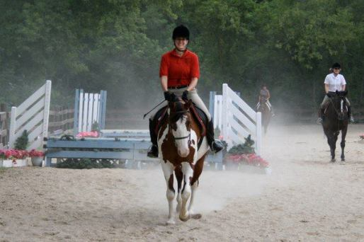Under saddle, looking good!