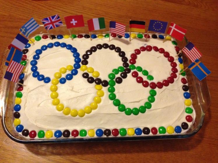Olympics Cake 2014