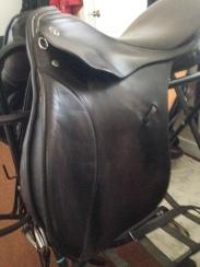 Finished saddle