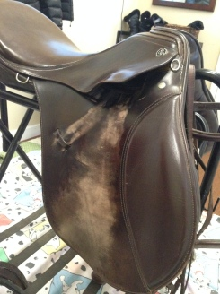 Dirty saddle