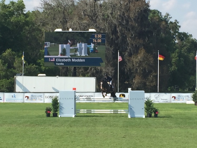 Beezie Madden on Vanilla, Live Oak International 2015