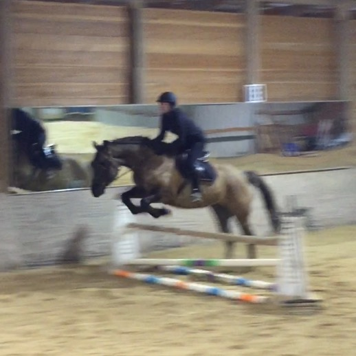 """Drifter jumping 2'6"""""""